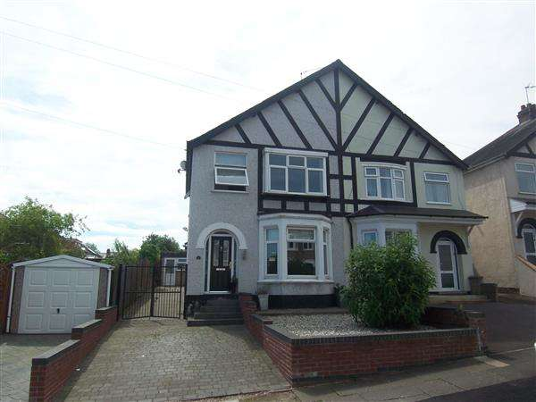 3 Bedrooms Semi Detached House for sale in Tonbridge Road, Coventry