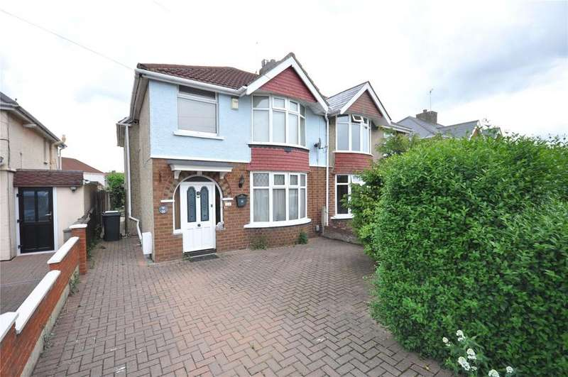 3 Bedrooms Semi Detached House for sale in Bampton Grove, Old Walcot, Swindon, Wiltshire, SN3