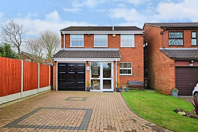 4 Bedrooms Detached House for sale in Princess Close, Burntwood, Staffordshire