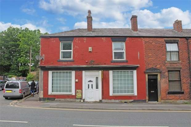 3 Bedrooms End Of Terrace House for sale in Bury Road, Rochdale, Lancashire