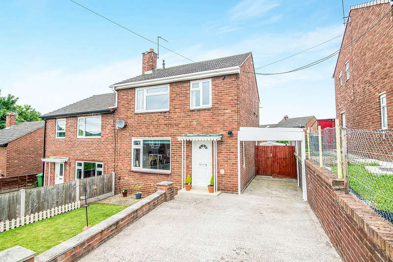 3 Bedrooms Semi Detached House for sale in Western Rise, Ketley, Telford, TF1