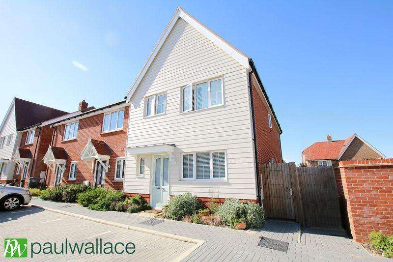 3 Bedrooms End Of Terrace House for sale in Huxley Close, West Cheshunt