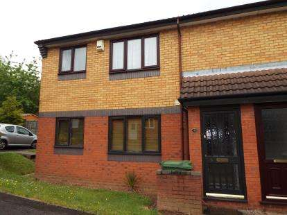 1 Bedroom Maisonette Flat for sale in Greig Court, Heath Hayes, Cannock, Staffordshire