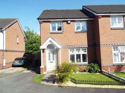 3 Bedrooms Semi Detached House for sale in Dales Close, Dunstall, Wolverhampton, West Midlands