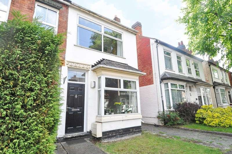 2 Bedrooms Semi Detached House for sale in Gristhorpe Road, Selly Oak, Birmingham