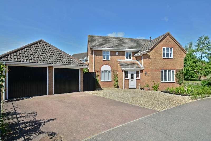 4 Bedrooms Detached House for sale in Appletree Lane, Roydon