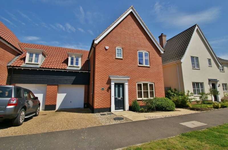 3 Bedrooms Semi Detached House for sale in Trafford Way, Norwich