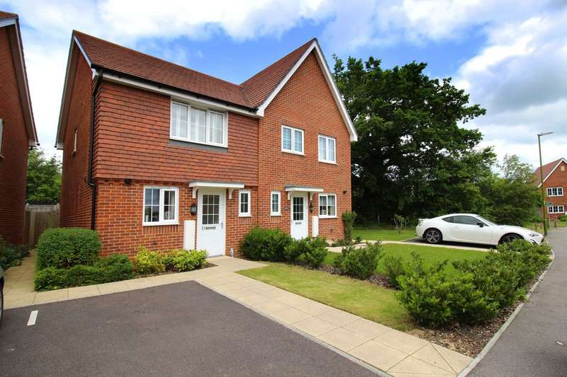 2 Bedrooms Semi Detached House for sale in Roman Lane, Southwater