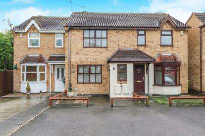 2 Bedrooms Semi Detached House for sale in Meadowsweet Road, Hamilton, Leicester, Leicestershire