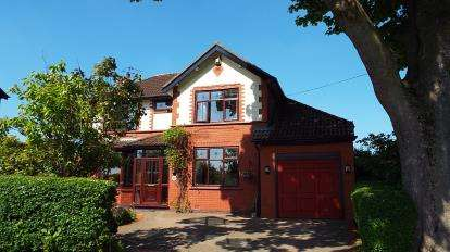 5 Bedrooms Detached House for sale in Dam Lane, Rixton, Warrington, Cheshire