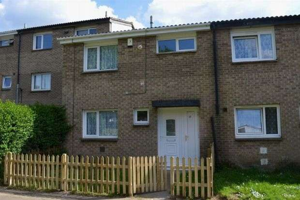 3 Bedrooms Terraced House for sale in Hopmeadow Court, Blackthorn, Northampton NN3 8QG