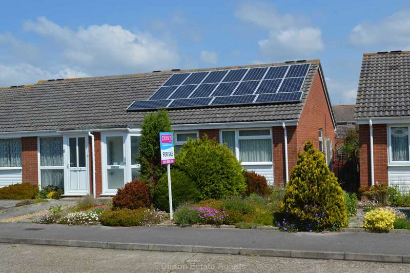 2 Bedrooms Semi Detached Bungalow for sale in Fell Drive, Lee On The Solent