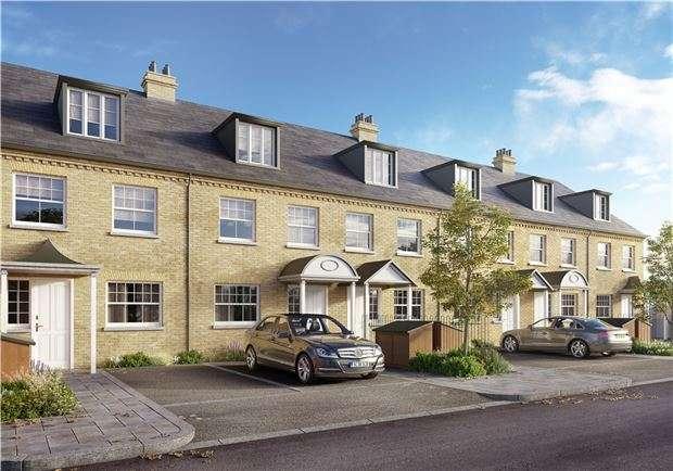 4 Bedrooms Terraced House for sale in Penmans Row, MORDEN, Surrey, SM4 6QB