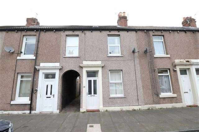 2 Bedrooms Terraced House for sale in Graham Street, Carlisle, Cumbria, CA2 5HA