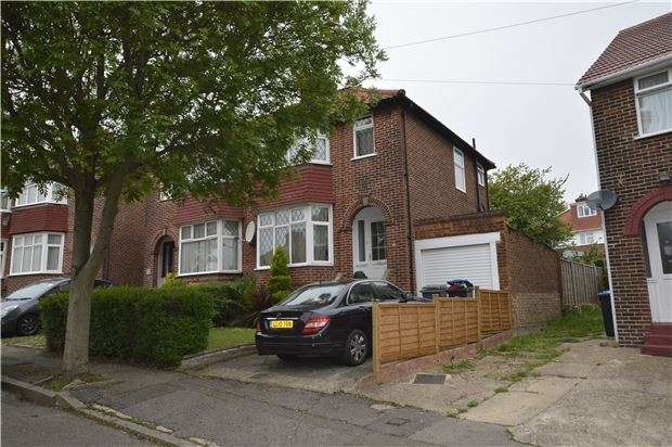 3 Bedrooms Semi Detached House for sale in Lodore Gardens, LONDON, NW9 0DN
