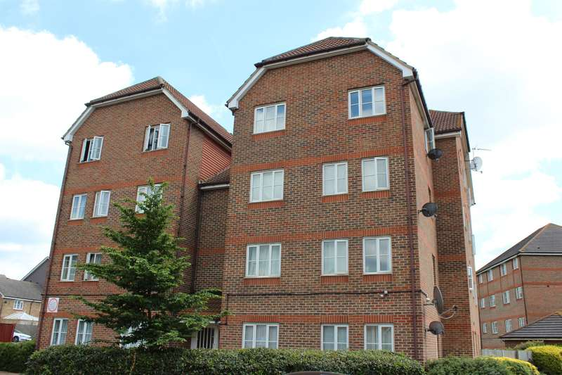 2 Bedrooms Flat for sale in Fairway Drive, Thamesmead, London, SE2