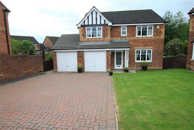 4 Bedrooms Detached House for sale in Forster Close, Newton Aycliffe, County Durham