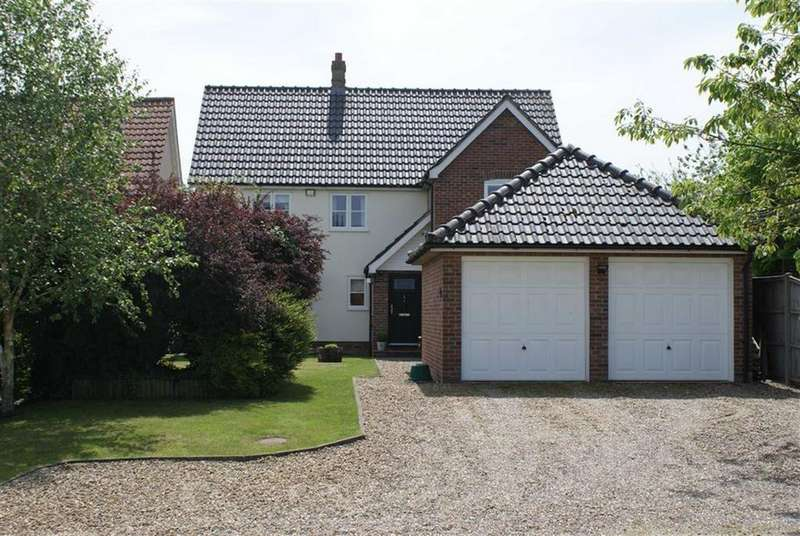4 Bedrooms Detached House for sale in Cobbold Close, Wortham, Suffolk