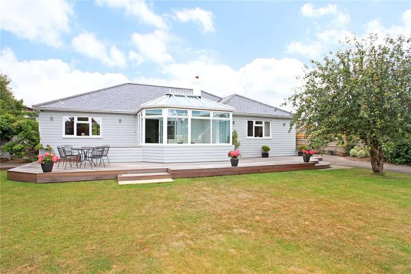 4 Bedrooms Detached Bungalow for sale in Rookwood Road, West Wittering, Chichester, West Sussex, PO20