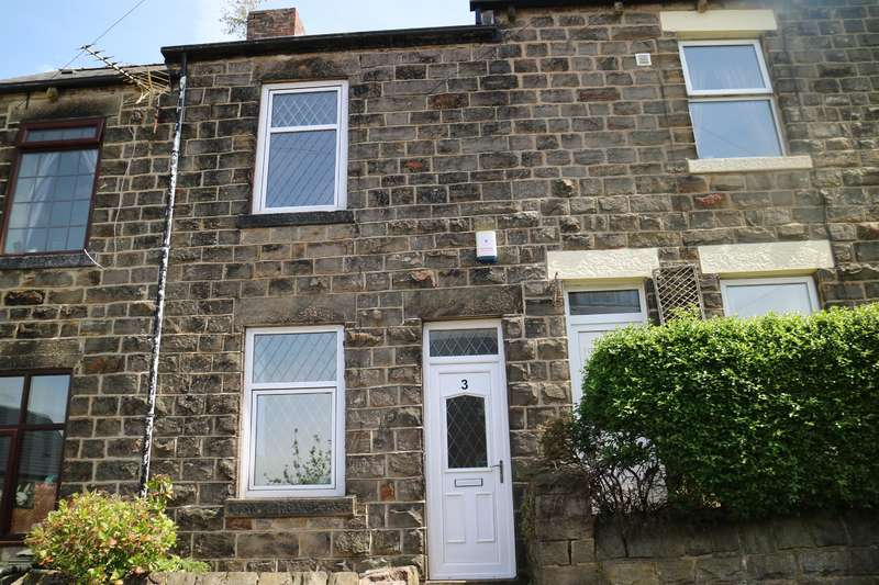 3 Bedrooms Terraced House for sale in Whitwell Crescent, Stocksbridge, Sheffield, S36 1GD