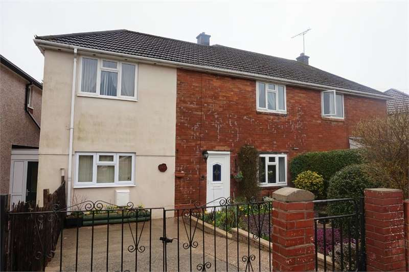 3 Bedrooms Semi Detached House for sale in Old Barn Way, ABERGAVENNY, NP7