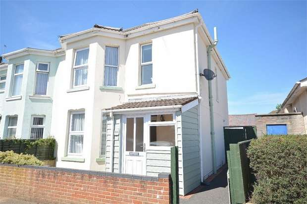 3 Bedrooms Semi Detached House for sale in Shelbourne Road, Bournemouth, Dorset