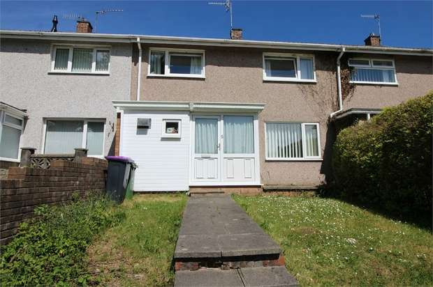 2 Bedrooms Terraced House for sale in Manorbier Drive, Llanyravon, CWMBRAN, Torfaen
