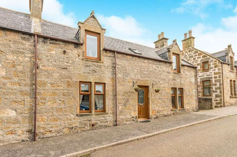 3 Bedrooms Semi Detached House for sale in Gordon Street, Hopeman, Elgin, IV30
