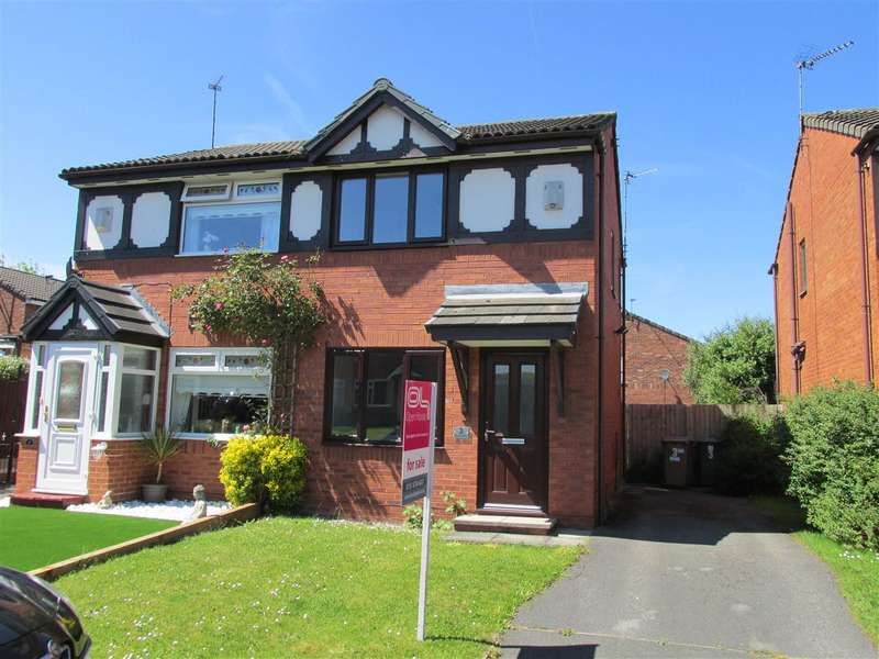 2 Bedrooms Semi Detached House for sale in Blakenhall Way, Saughall Massie, Wirral