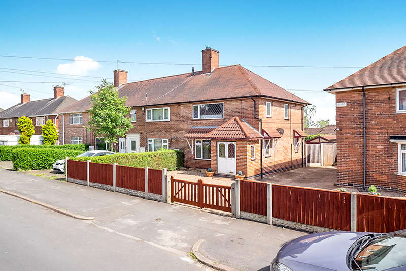 3 Bedrooms Semi Detached House for sale in Honiton Road, Nottingham, NG8