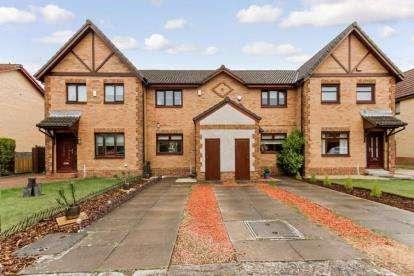 2 Bedrooms Terraced House for sale in Springcroft Gardens, Baillieston, Glasgow, Lanarkshire