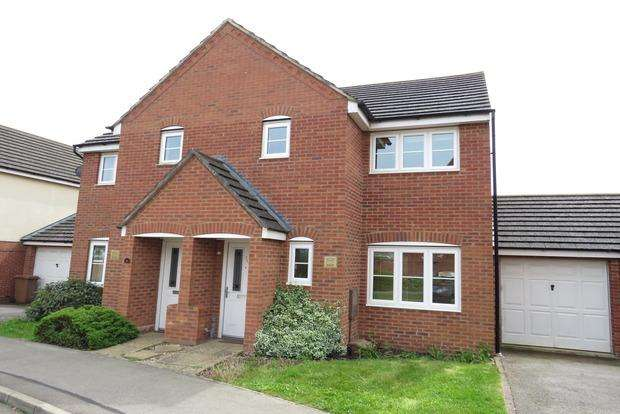 3 Bedrooms Semi Detached House for sale in Milburn Drive, Northampton, NN5