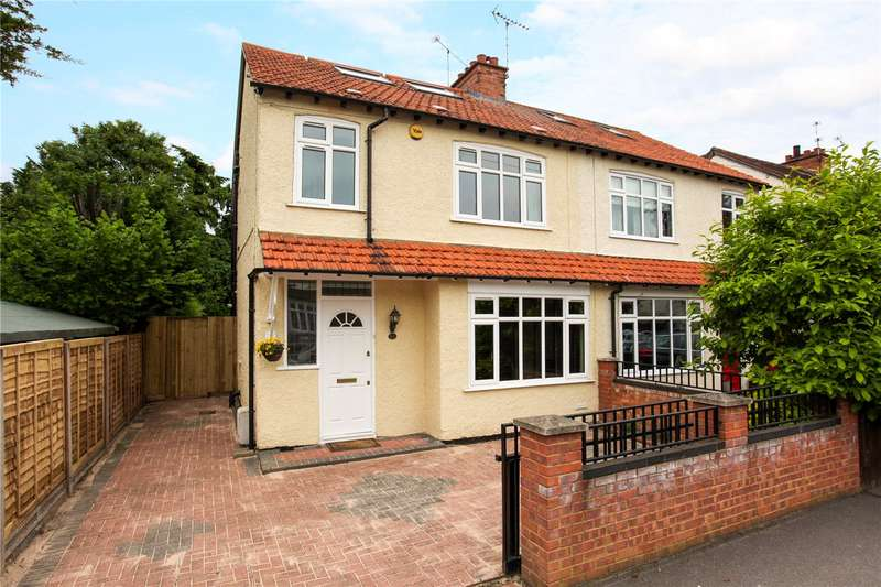 4 Bedrooms Semi Detached House for sale in College Crescent, Windsor, Berkshire, SL4