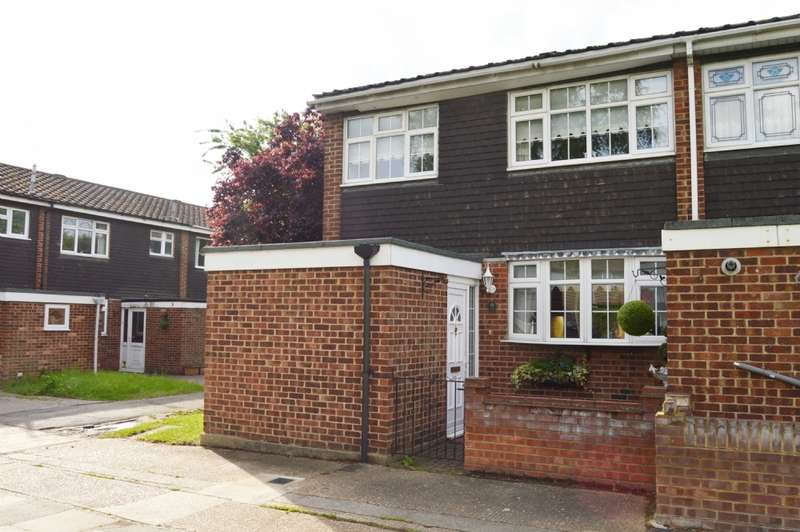 3 Bedrooms End Of Terrace House for sale in Hamilton Drive, Harold Wood