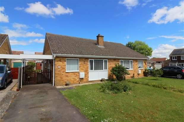 2 Bedrooms Semi Detached Bungalow for sale in Poplar Road, Street