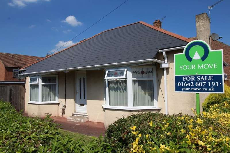 2 Bedrooms Detached Bungalow for sale in Linden Avenue, Stockton-On-Tees, TS18
