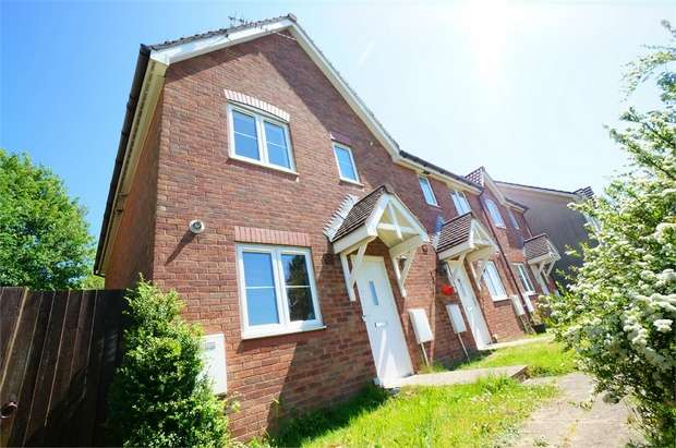 3 Bedrooms End Of Terrace House for sale in High Trees, Risca, NEWPORT, Caerphilly