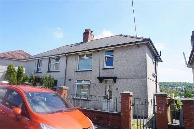 3 Bedrooms Semi Detached House for sale in Glanddu Terrace, Tir-Y-Berth, HENGOED, Caerphilly