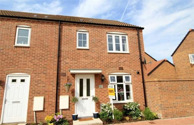 3 Bedrooms Semi Detached House for sale in St Vincent Court, NEWPORT