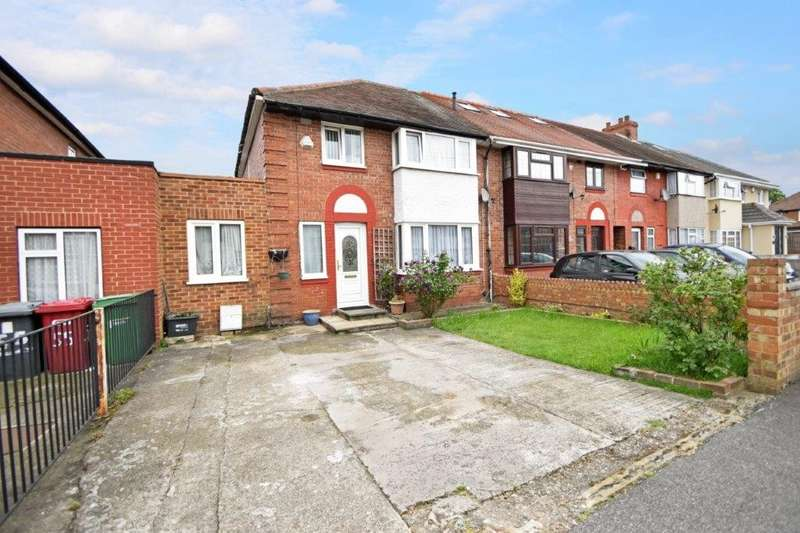 3 Bedrooms Semi Detached House for sale in Warwick Avenue, Slough, SL2