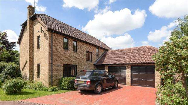 4 Bedrooms Detached House for sale in Ashdale Park, Finchampstead, Wokingham