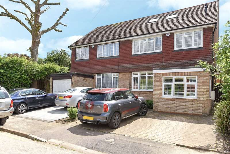 4 Bedrooms Semi Detached House for sale in Malm Close, Rickmansworth, Hertfordshire, WD3