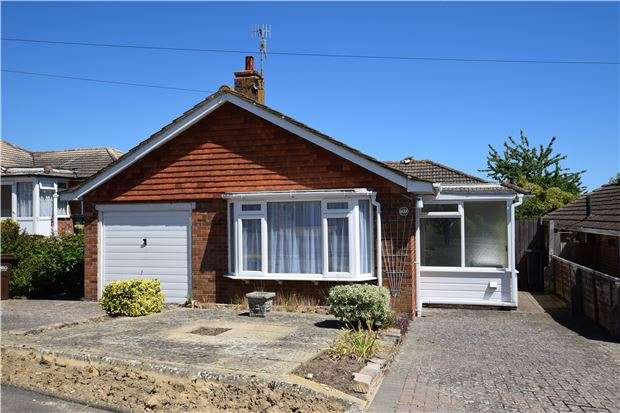 2 Bedrooms Detached Bungalow for sale in Millham Close, BEXHILL-ON-SEA, East Sussex, TN39 4JS