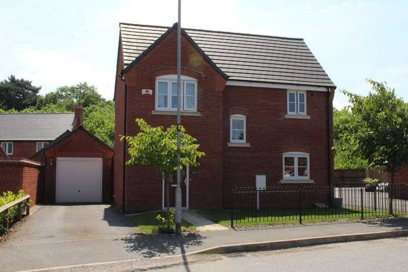 3 Bedrooms Detached House for sale in Highland Drive, Loughborough