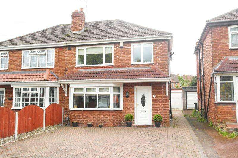 3 Bedrooms Semi Detached House for sale in Cherry Tree Avenue, Yew Tree Estate, Walsall