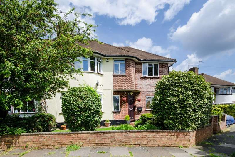 4 Bedrooms Semi Detached House for sale in Broadhurst Gardens, Eastcote, HA4