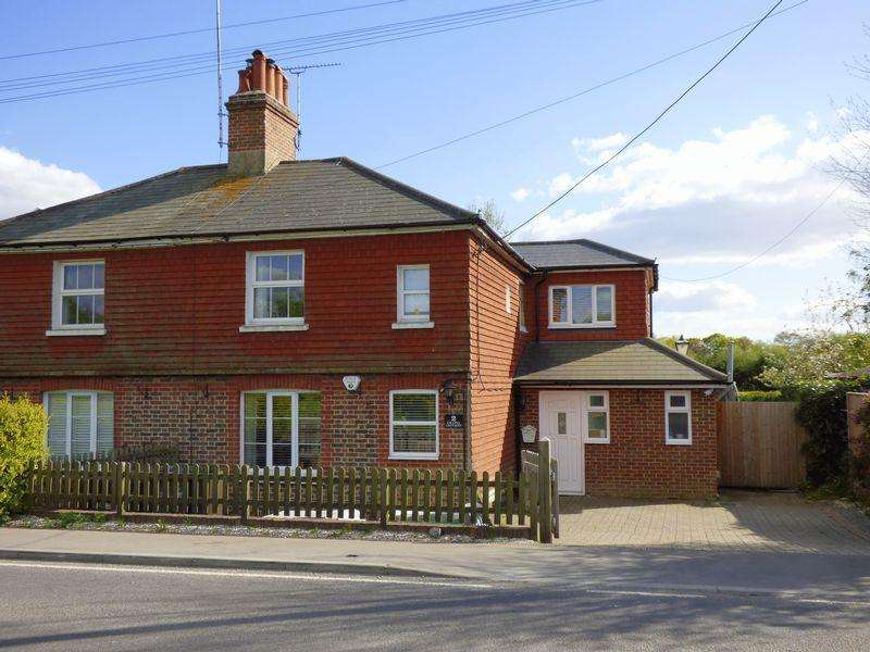 5 Bedrooms Semi Detached House for sale in Cowfold Road, Bolney, West Sussex