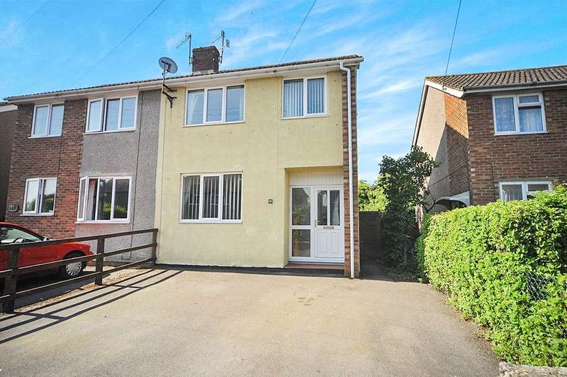 3 Bedrooms Semi Detached House for sale in Braemor Road, Calne, SN11