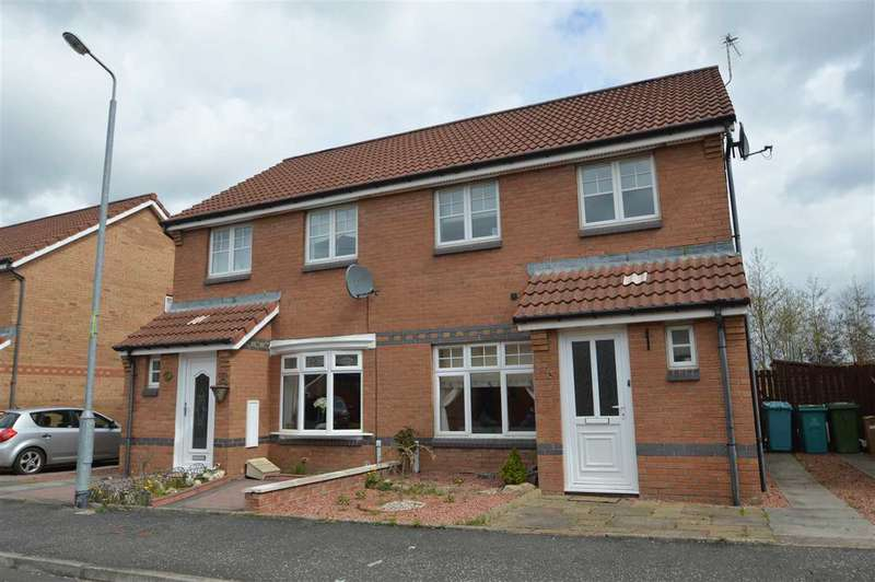3 Bedrooms Semi Detached House for sale in Lammermuir Way, Chapelhall