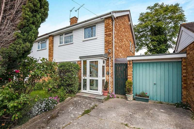 3 Bedrooms Semi Detached House for sale in Jordans Close, Stanwell, Staines-Upon-Thames, TW19